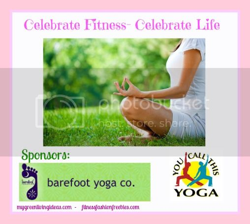 celebrate fitness yoga giveaway