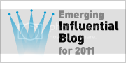 2011 Emerging Influential Blog