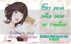 PSubscribe to A Fashion&Passion Online by Email