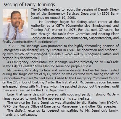 Click HERE, To Learn MORE About The Barry Jennings Mystery.