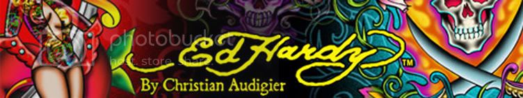 ed hardy banner